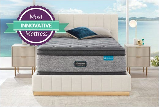 Beautyrest Harmony Lux HLD2000 Plush Pillow Top