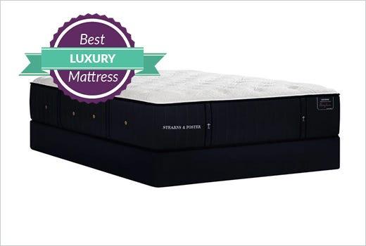 Stearns and Foster Lux Estate Cassatt Luxury Plush 14.5 Inch Mattress