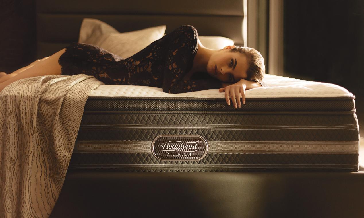 beautyrest black bed