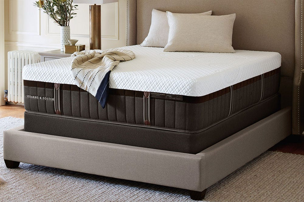 Stearns Amp Foster Lux Estate Hybrid Mattress Reviews