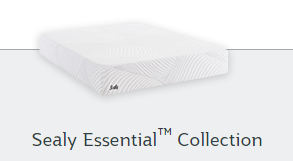 Sealy Essential Collection graphic