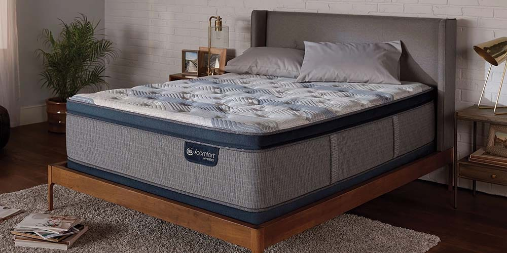 Serta Icomfort Reviews >> Serta iComfort Hybrid Blue Fusion 300 Plush Pillowtop ...