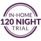 120 Night Guarantee icon