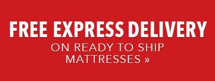 Mattress size information for Beds express delivery