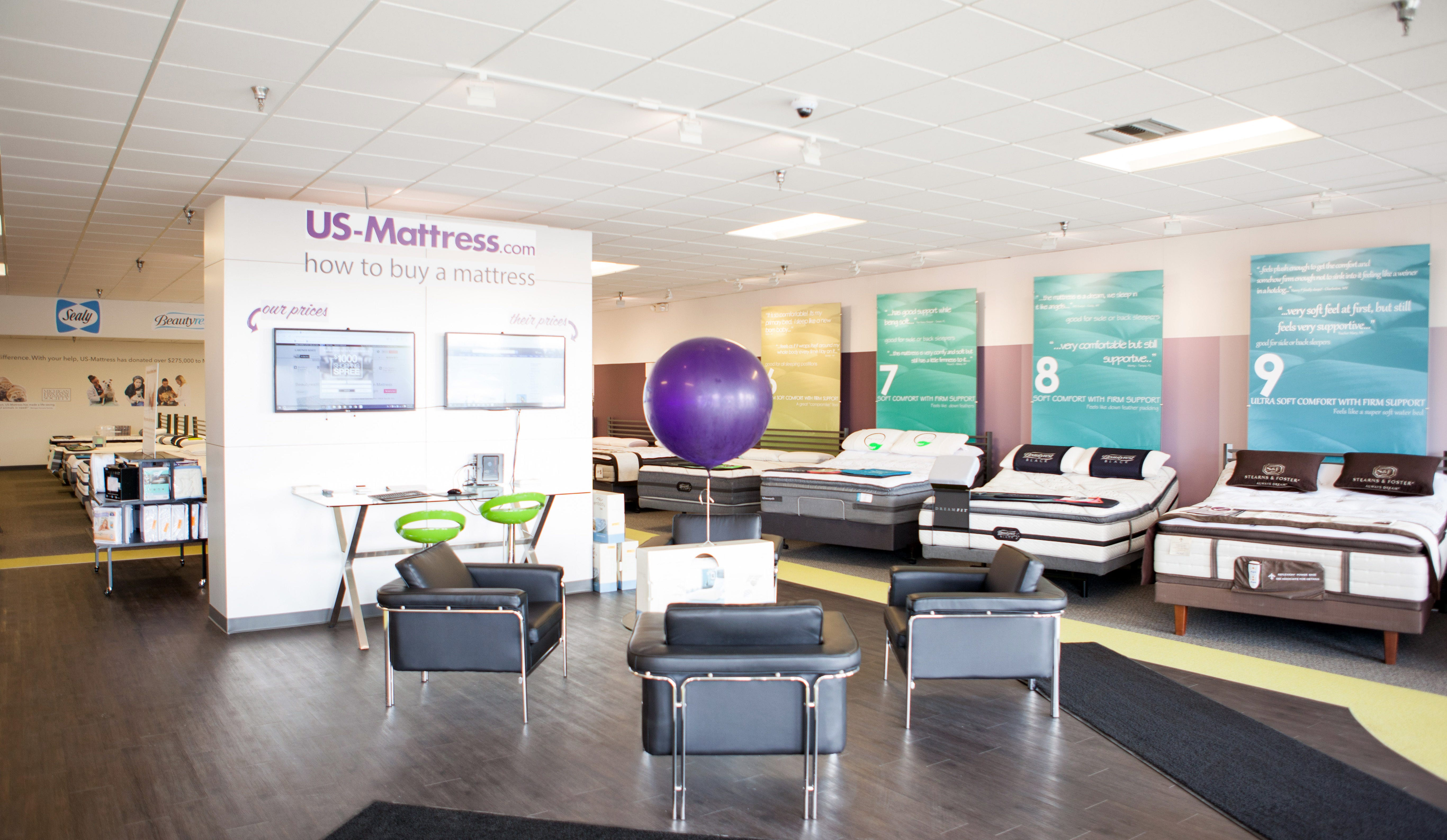 West Bloomfield MI mattress showroom