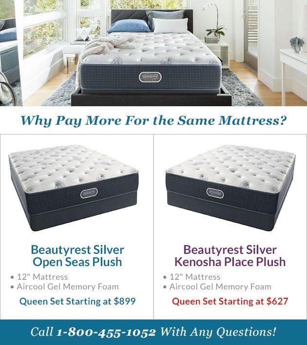 Comparing The Beautyrest Silver Open Seas Mattress