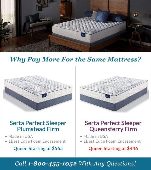 Comparing The Serta Perfect Sleeper Plumstead Mattress