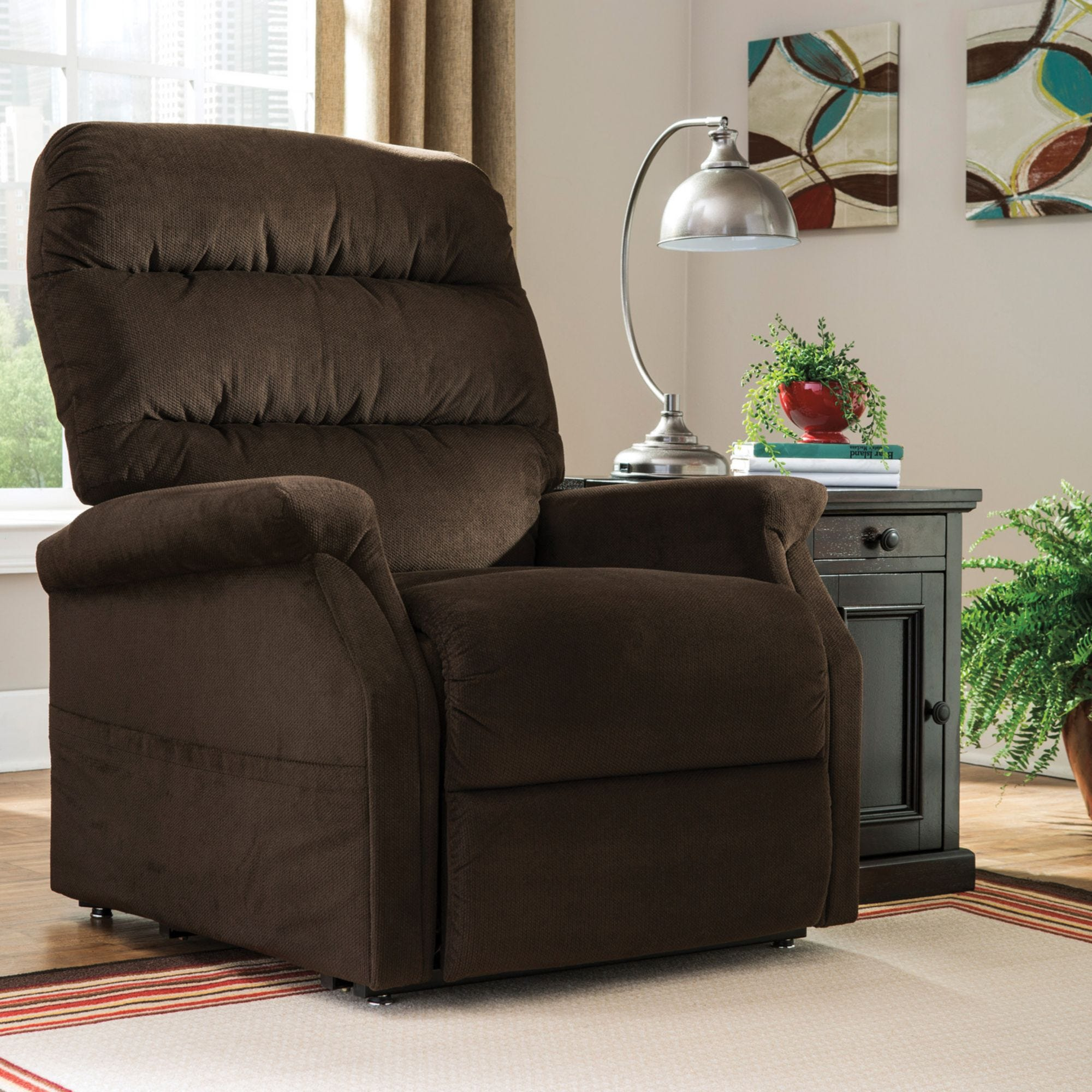 lift roll recliners chr lr recliner brown product to image over chairs java ingram zoom chair