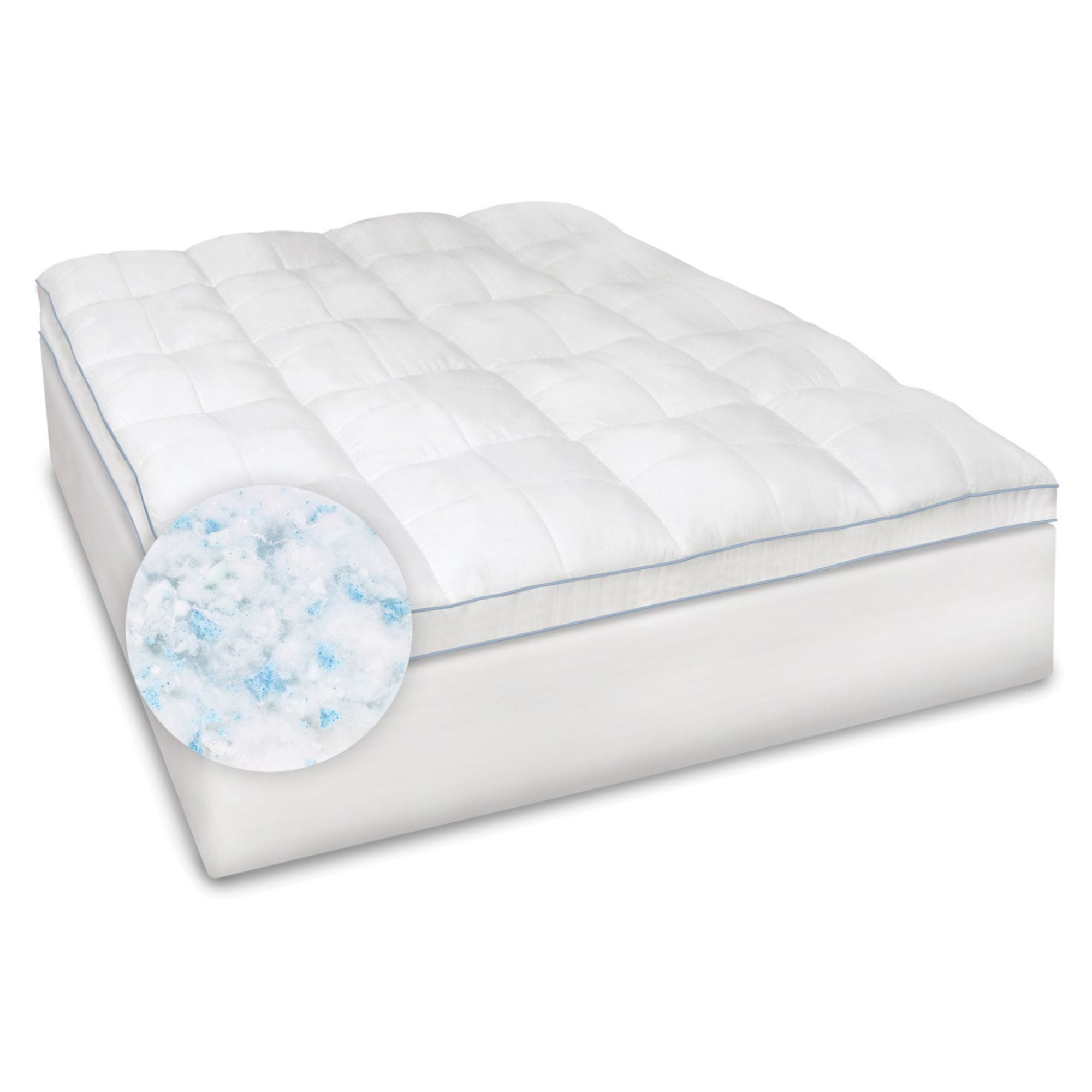size innovations dp pad memory queen a foam cotton with year com kitchen mattress the sleep in gel usa inch amazon topper warranty cover made