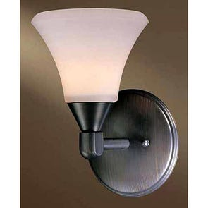 Clearance Minka-Lavery Haverford 1-Light Sconce OVFCR121796