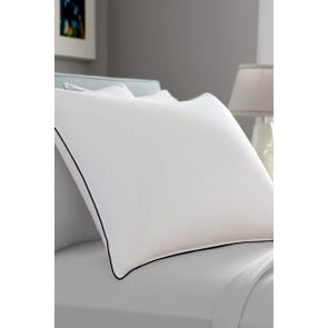 Pacific Coast Feather Double Down Around Queen Pillow in White