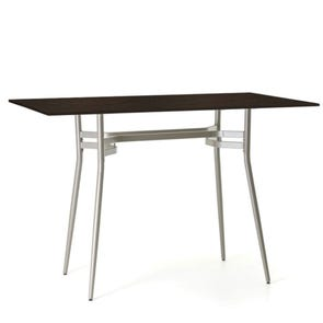 Amisco Anais Rectangular Wood Top Bar Height Table