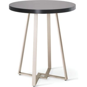 Amisco Dirk Round or Square Wood Top Counter Height Table
