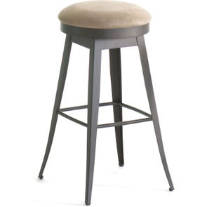 Amisco Grace 34 Inch Swivel Bar Stool