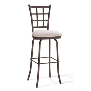 Amisco Jamie 34 Inch Swivel Bar Stool