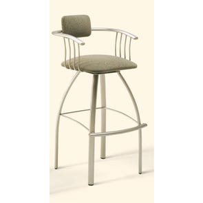 Amisco Kris 34 Inch Swivel Bar Stool