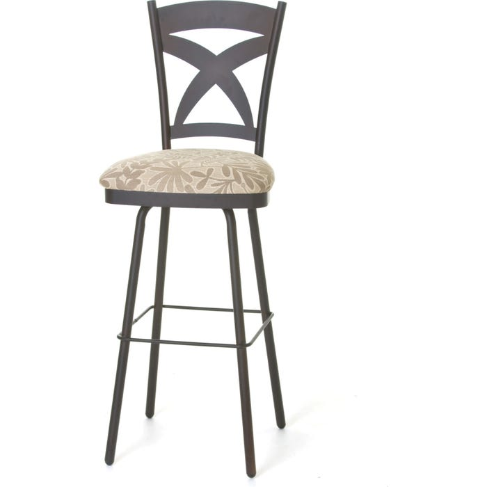 Groovy Amisco Marcus 26 Inch Swivel Counter Stool Bralicious Painted Fabric Chair Ideas Braliciousco