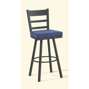 Amisco Owen 26 Inch Swivel Counter Stool