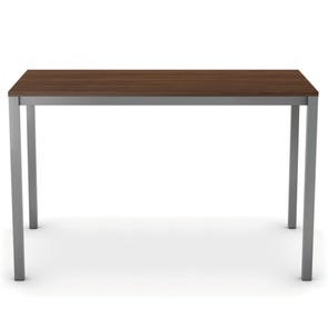 Amisco Ricard Bar Height Wood Dining Table