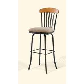Amisco Tammy 26 Inch Swivel Counter Stool