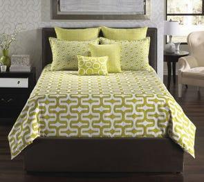angelo:HOME Mod Citron 6 Piece Bedding Set
