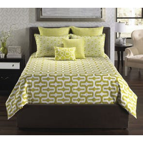 angelo:HOME Mod Citron 6 Piece Bedding Set