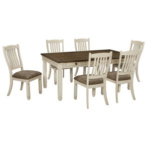 Signature Design by Ashley Bolanburg 7 Piece Dining Set