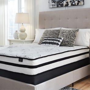 Twin Ashley Chime 10 Inch Hybrid Cushion Firm Bed in a Box Mattress