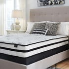 King Ashley Chime 10 Inch Hybrid Cushion Firm Bed in a Box Mattress