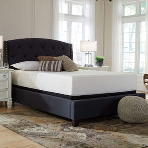 Queen Ashley Chime 12 inch Memory Foam Cushion Firm Bed in a Box Mattress