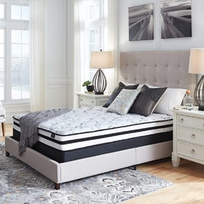 Queen Ashley Chime 8 Inch Innerspring Firm Bed in a Box Mattress