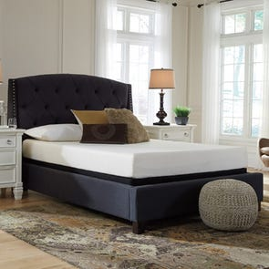 Queen Ashley Chime 8 Inch Memory Foam Firm Bed in a Box Mattress