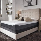 Twin Ashley Chime Elite 10 inch Memory Foam Firm Bed in a Box Mattress