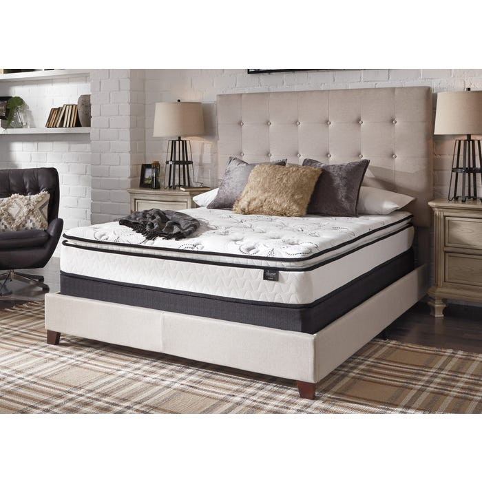 Full Ashley Chime Innerspring Pillow Top Bed In A Box Mattress
