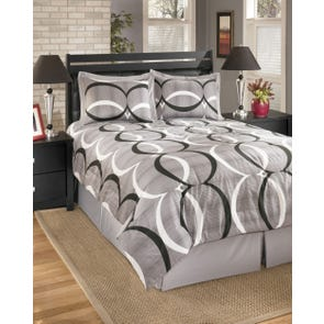 Signature Design by Ashley Pellston Queen Bedding Ensemble