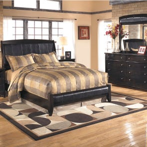 Signature Design by Ashley Harmony 4 Piece King Bedroom Group