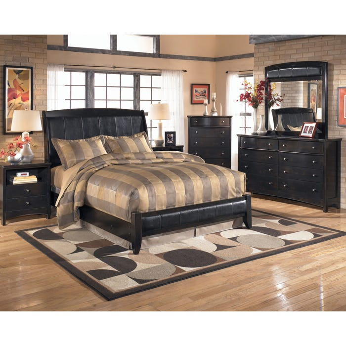 Signature Design By Ashley Harrison 5 Piece Bedroom Set With 2nd