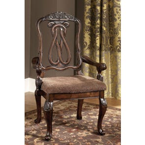 Signature Design by Ashley New Haven Arm Chair Set of 2