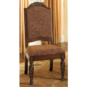 Signature Design by Ashley New Haven Upholstered Side Chair Set of 2