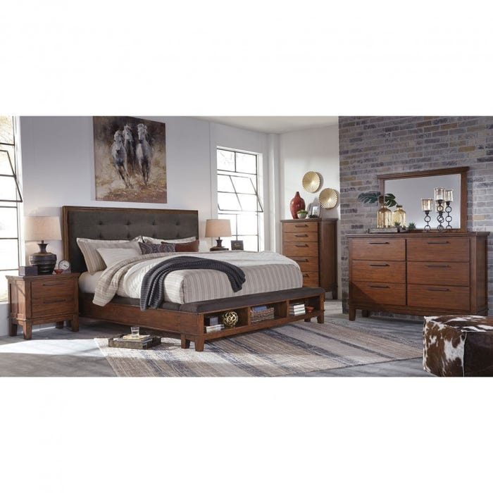 Signature Design by Ashley Ralene 5 Piece Queen Bedroom Group