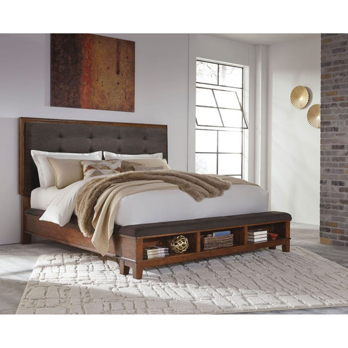 Signature Design By Ashley Ralene Queen Size Upholstered Bed With