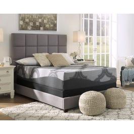Queen Ashley Sierra Sleep 12 Inch Hybrid 1200 Plush Bed In