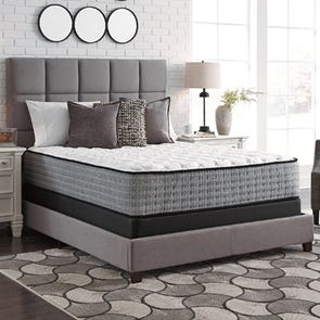 Queen Ashley Sierra Sleep Mt Rogers Ltd Firm Bed in a Box Mattress