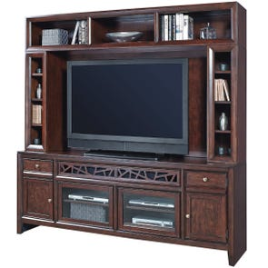 Clearance aspenhome Genesis 84 Inch Console with Hutch OVFCR121763