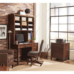 aspenhome Canfield 50 Inch Junior Desk and Hutch