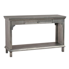 aspenhome Preferences Sofa Table in Metallic