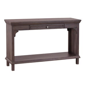aspenhome Preferences Sofa Table in Shiitake