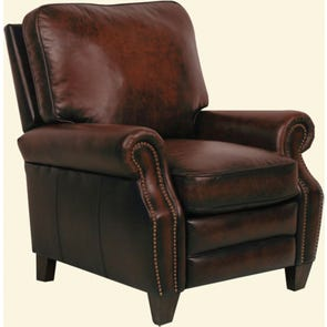 Barcalounger Briarwood II Recliner in Stetson Coffee
