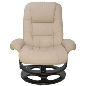 Barcalounger Pedestal Recliners Jacque II Recliner in Hilton Ivory