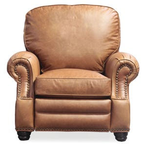 Barcalounger Vintage Longhorn II Recliner in Chaps Saddle